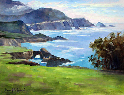 Iconic Painting - Rocky Point Spring by Karin Leonard