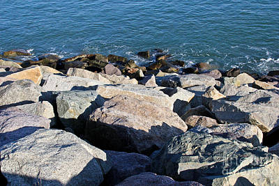 Winthrop Photograph - Rocky Water by Extrospection Art