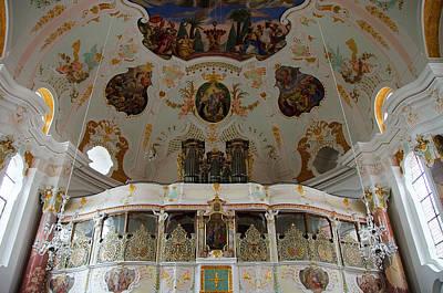 Rococo Choir Balcony Guenzburg Frauenkirche Original by Elzbieta Fazel