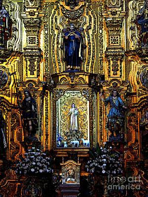 Mazatlan Photograph - Splendor, Cathedral, Mexico City by Mexicolors Art Photography