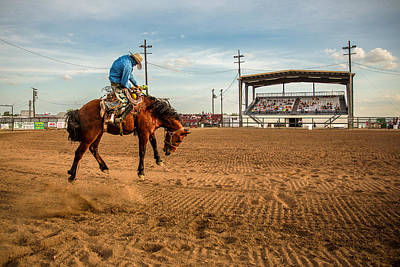 Rodeo Days Print by Todd Klassy