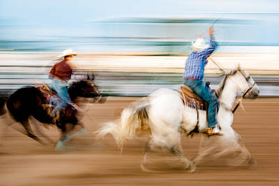 Chinook Photograph - Rodeo Dreams by Todd Klassy