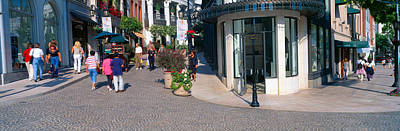 Beverly Hills Photograph - Rodeo Drive, Beverly Hills, California by Panoramic Images