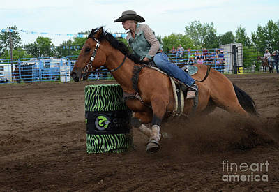 Barrel Racing Photograph - Rodeo Life 1 by Bob Christopher