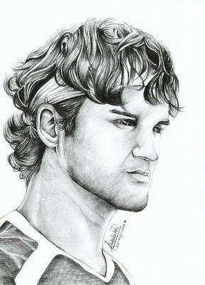Roger Federer Print by Abhilekh Phukan