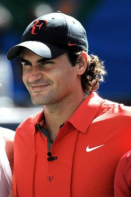 Federer Photograph - Roger Federer In Attendance For Arthur by Everett