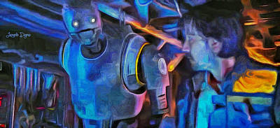 Space Painting - Rogue One Following - Pa by Leonardo Digenio