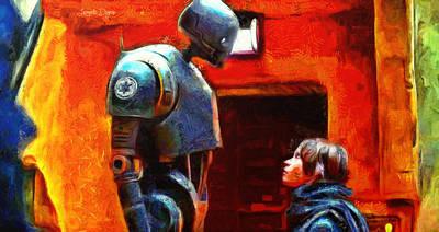 Alliance Digital Art - Rogue One I Will Not Kill You - Da by Leonardo Digenio