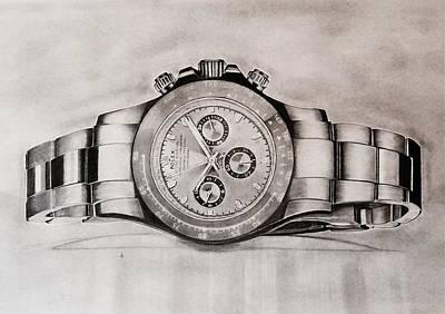 Rolex Print by Krishna Regula
