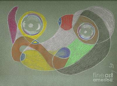 Drawing - Roley Poley Horizontal by Rod Ismay