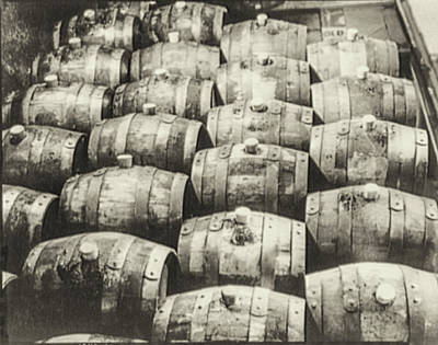 Roll Out The Barrel Print by Bill Cannon