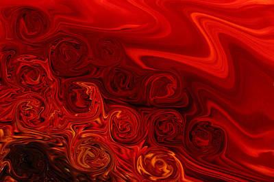 Rolled Silk Print by Marnie Patchett