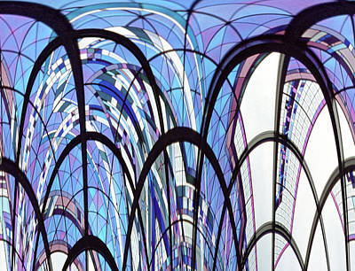 Roller Coaster Print by Dawn Heimer