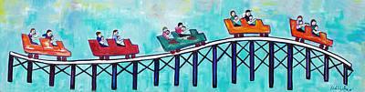 Roller Fun Print by Patricia Arroyo