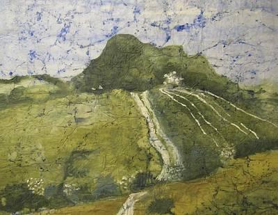 Landscape-like Art Painting - Rolling Hills by Marcia Mckinzie