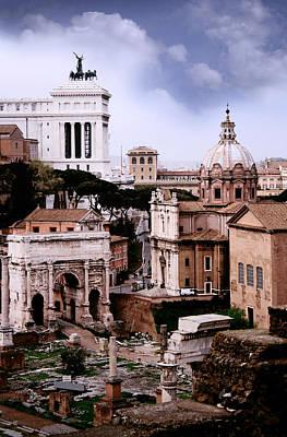 Roman Forum Print by Warren Home Decor