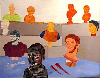 Catullus Painting - Roman Heritage by David Yoffe
