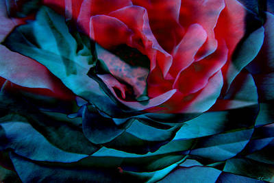 Romance - Abstract Art Print by Jaison Cianelli