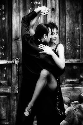 Sweating Photograph - Romance Of The Tango by Mountain Dreams