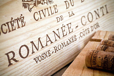 Fine Wines Photograph - Romanee-conti by Frank Tschakert