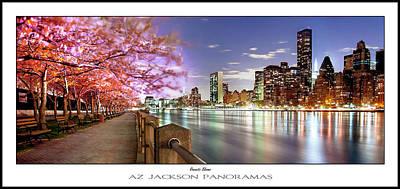 Romantic Blooms Poster Print Print by Az Jackson