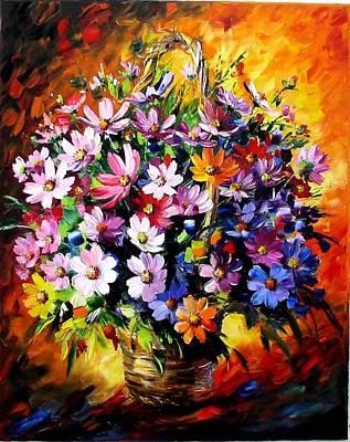 Daniel Wall Painting - Romantic Dream by Daniel Wall