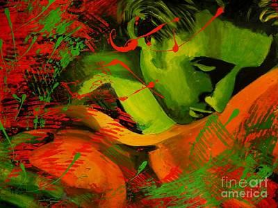 Romantic Kiss Original by Jolanta Shiloni