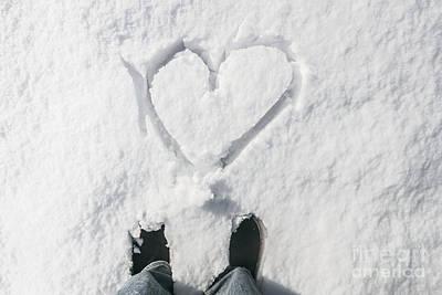 Romantic Snow Vacation Print by Jorgo Photography - Wall Art Gallery