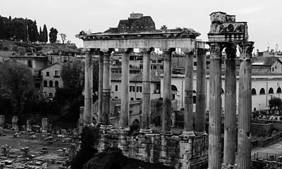 Italian Landscape Photograph - Rome - Details From The Imperial Forums by Andrea Mazzocchetti