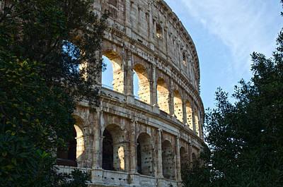 Rome - The Colosseum - A View 4 Print by Andrea Mazzocchetti