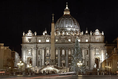 Rome Vatican Print by Joana Kruse