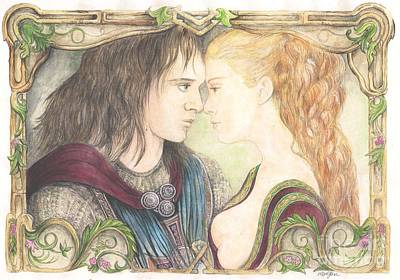 Romeo And Juliet Print by Morgan Fitzsimons