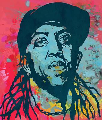 Ronald Slim Williams Pop Art Poser Print by Kim Wang