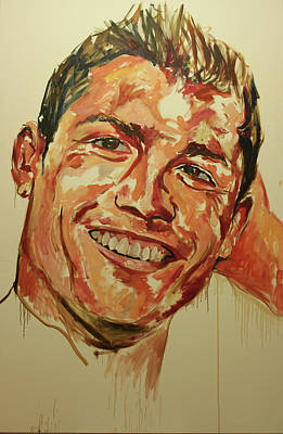 Cristiano Ronaldo Painting - Ronaldo by Tachi Pintor