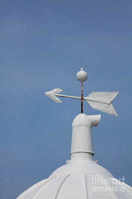Weathervane Photograph - Rooftop Of Lighthouse by Gabriela Insuratelu
