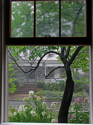 Room With A View Photograph - Room With A Rainy View by Juergen Roth