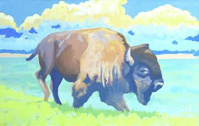 Roosevelt Bull  Print by Stephen Wysocki