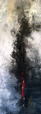 Abstract Painting - Roots And Wings by Jill English