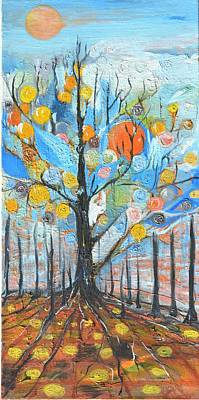 Tree Roots Painting - Roots by Evelina Popilian