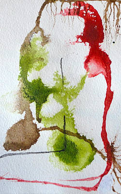 Tree Roots Painting - Rooted by Jenn Ashton