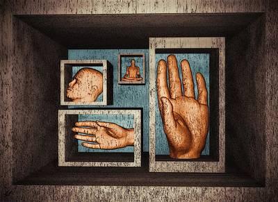 Surrealistic Digital Art - Roots Of Creativity by John Alexander