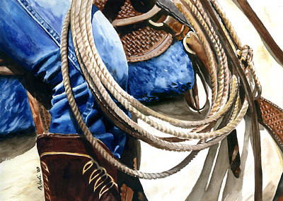 Rope Print by Nadi Spencer
