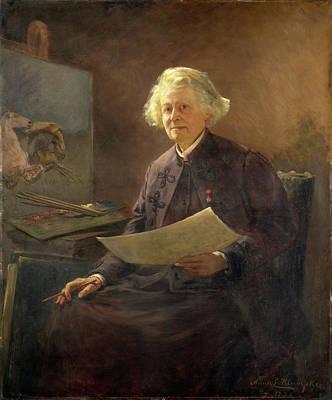 Klumpke Painting - Rosa Bonheur by Anna Elizabeth Klumpke