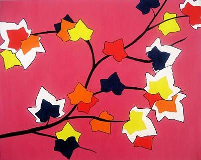 Rose Coloured Glow Original by Oliver Johnston