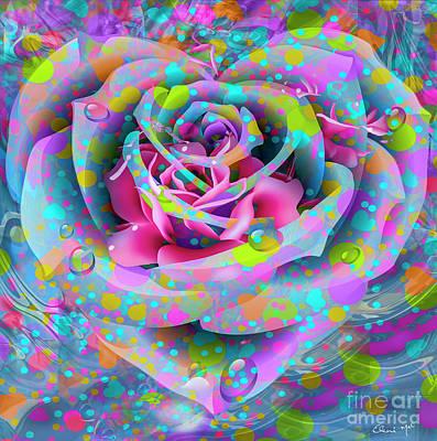 Digital Art - Rose by Eleni Mac Synodinos