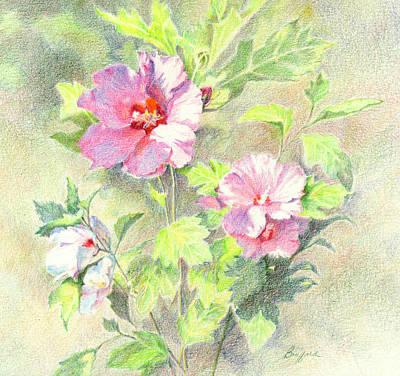 Rose Of Sharon Painting - Rose Of Sharon by Vikki Bouffard