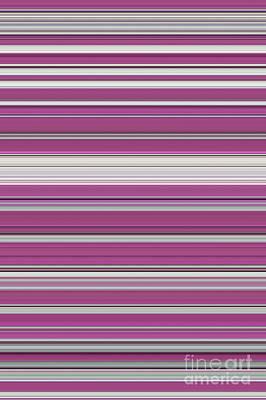 Multi-color Digital Art - Rose by Tim Gainey