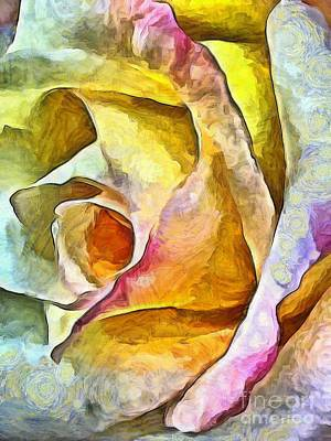 Colorful Roses Photograph - Rose Whimsy by Krissy Katsimbras