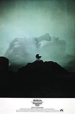 1960s Poster Art Photograph - Rosemarys Baby, Mia Farrow, 1968 by Everett