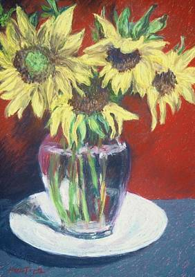 Rosemarys Gift Print by Dolores Holt